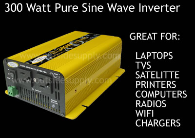 sine wave power inverter for sensitive loads.