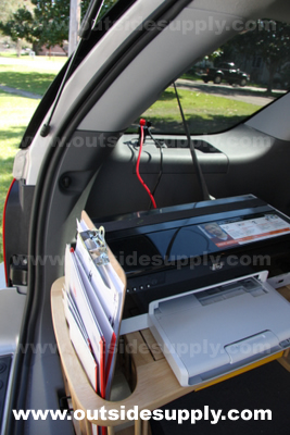 Inverter Car Ink-jet Wireless Printer