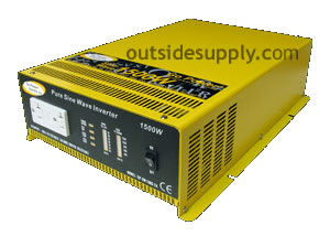 Car Power Inverters can include hard wired Sine wave inverters.