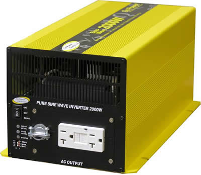 True Sine Wave 200 Watt Power Inverter that is Perfect for Sailboats